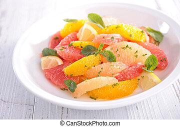 fruit citrus salad