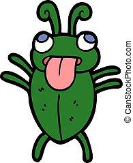 funny cartoon bug