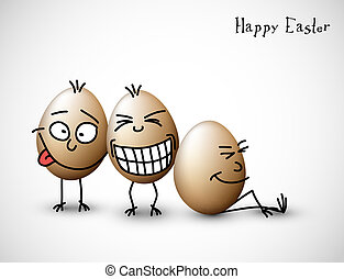 Funny easter eggs