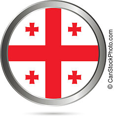 Georgia flag button.