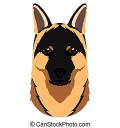 German shepherd avatar