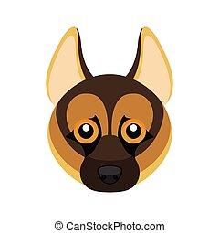German shepherd dog avatar
