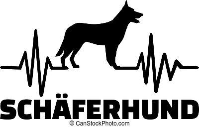 German Shepherd frequence german