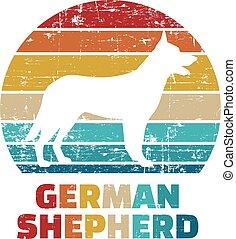 German Shepherd vintage