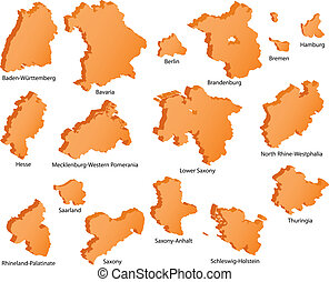 German States Icons