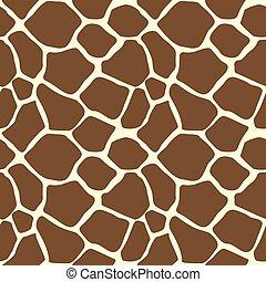 Giraffe Animal Print Pattern Seamless Tile