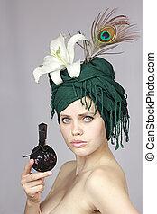 girl with spirits