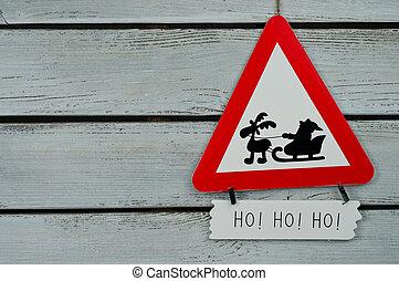 Santa give away traffic