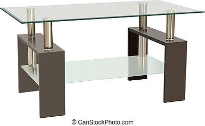 Glass Living Room Table