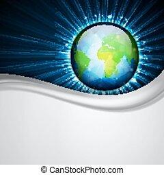 Globe of Earth