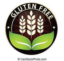 Gluten free food icon