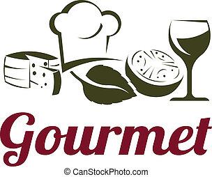 Gourmet classic fine cuisine ingredients