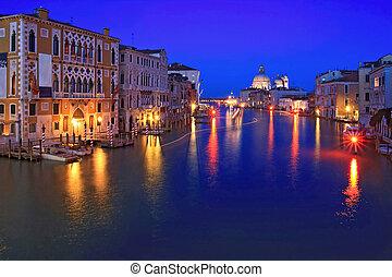 Grand Canel Venice night
