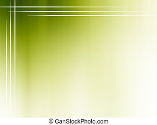 Green blur with white lines. Space to insert text or design