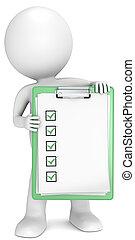 Green Check List.