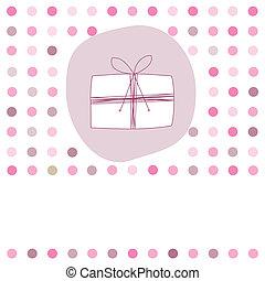 Card for birthday girl