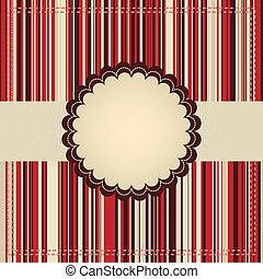 Greeting card template. EPS 8 vector file included