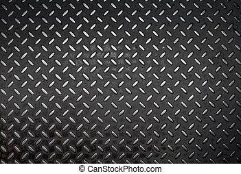 grunge diamond metal background
