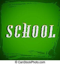 Grunge School Composition