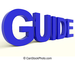 Guide Word As Symbol for Guidance Or Learning