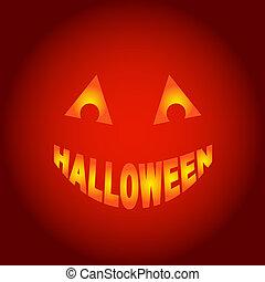 Halloween ghost, vector