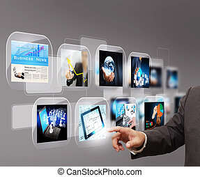 hand reaching images streaming