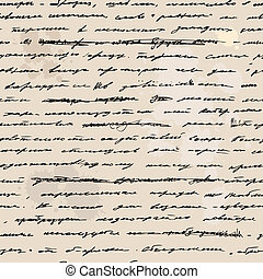 Vintage hand drawn background. Seamless vector text.