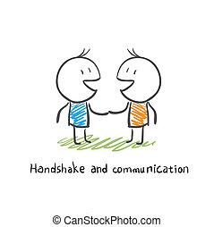 handshake and communication