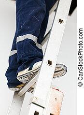 Handyman on Ladder