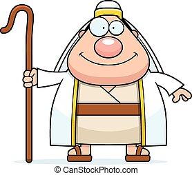 Happy Cartoon Shepherd