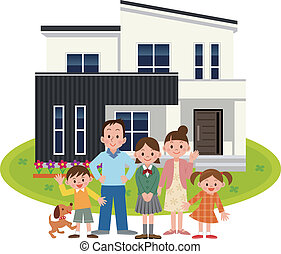 Happy Family and My Home
