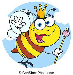 Happy Queen Bee