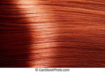 Healthy Brown Hair