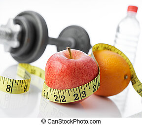 eat fruits and exercise for healthy living