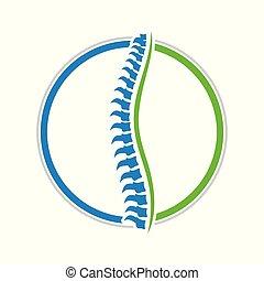 Healthy Spine Circle Design