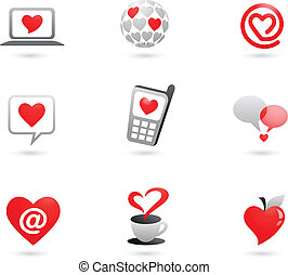 Heart icons - 2