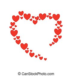 heart love romatic passion icon. Vector graphic