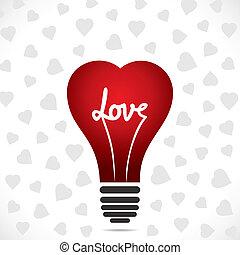 heart shape bulb