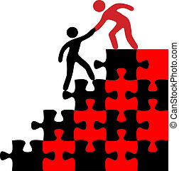 People join hands to help find problem puzzle solution