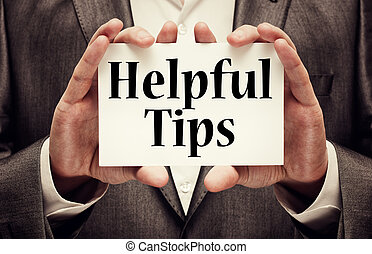 Helpful Tips On Paper In Male Hands
