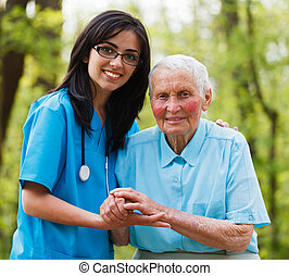Helping Nurse