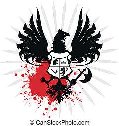 heraldic eagle coat of arms