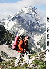 Man in hike