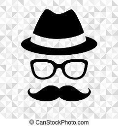 Hipster man