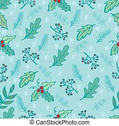 Holiday Floral Background Pattern. Vector Illustration.