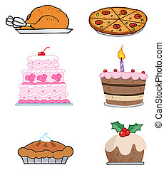 Holiday Foods-Vector Collection