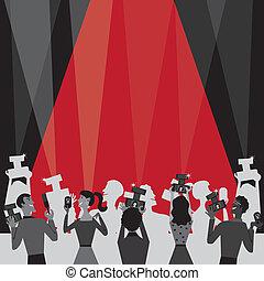 Hollywood Movie Award Party Invite
