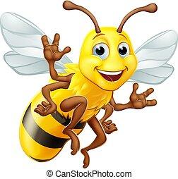 Honey Bumble Bee Bumblebee Cartoon Character