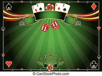 A casino horizontal background for your poker tour