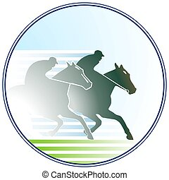 horse-racing sign